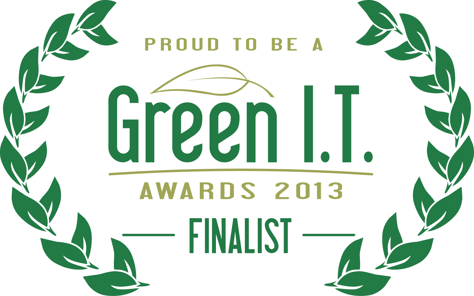 Green I.T. Awards 2013 Finalist